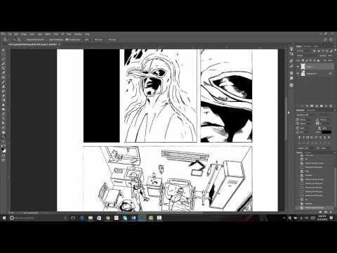 Creating Comic Book Panels in Adobe Photoshop