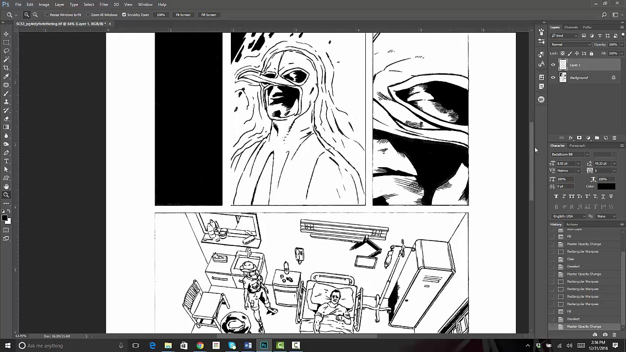Creating Comic Book Panels In Adobe Photo