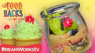 Edible Terrarium + More Desert Desserts | FOOD HACKS FOR KIDS