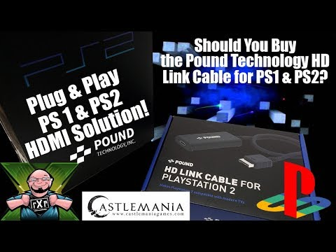 Plug & Play HDMI for PlayStation & PS2! Should You Buy the Pound Technologies HD Link HDMI Cable