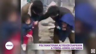 Folyamatosak az összecsapások a török-görög határon