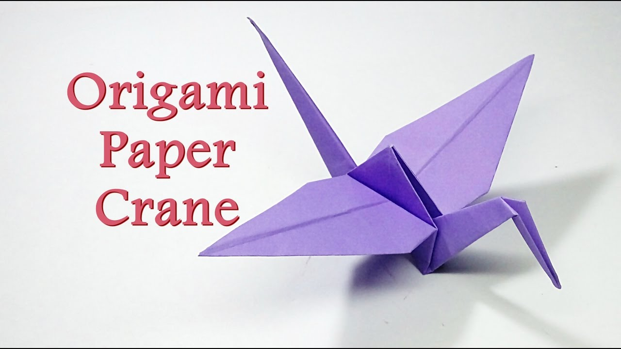 How to make origami box easy step by crane