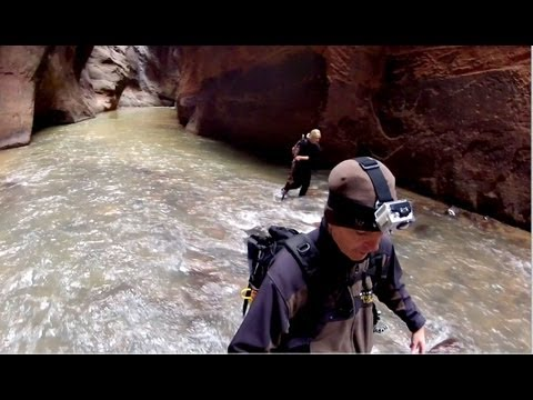 Zion Narrows Hike, Best Hike Ever, November 2012, Zion National Park