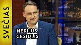 """""""Į Seimą Neisiu Visą Kadenciją Dirbsiu Alytuje"""" – Nerijus Cesiulis  Laikykitės Ten Pokalbiai"""