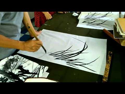 Folk Korean painting-Park Jeong Ryeol/Lesson 2