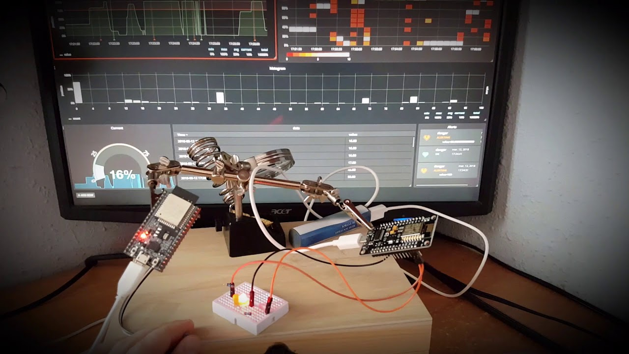 Controlling Bedside Lamp With The Tvs Remote Using Arduino And A Ir Grieteeeprojects11 Control Of Electrical Appliances Playing Mqtt Influxdb Grafana Python