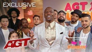 Dunkin' Lounge: Live Results 3 - America's Got Talent 2019