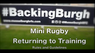 MRFC Mini Rugby: Returning to Training