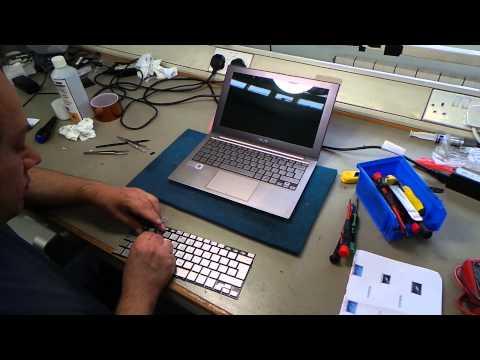 Asus Zenbook UX21E Keyboard Repair | Beckenham Asus Repair