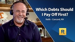 Which Debts Should I Pay Off First?