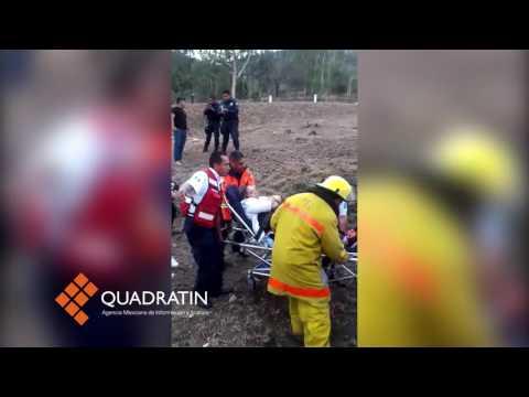 Accidente automovilístico en la Morelia-Salamanca dejó 10 lesionados