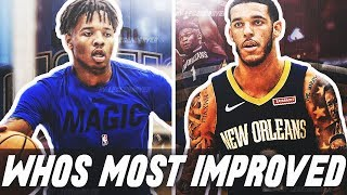 Lonzo Ball vs Markelle Fultz | WHOS THE NBA'S MOST IMPROVED PLAYER THIS YEAR?!