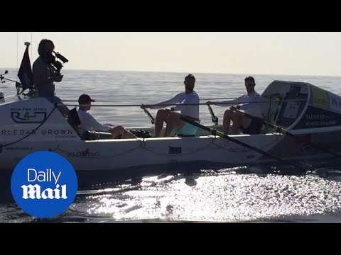 World's toughest rowing race: Talisker Whisky Atlantic Challenge - Daily Mail