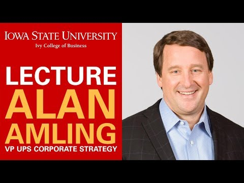 Launched by Disruption - Alan Amling, VP UPS Corporate Strategy