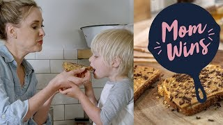 Peanut Butter Slices (with Bev Weidner) | Mom Wins | Food Network