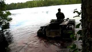 каракат амфибия(испытание погружного винта., 2011-08-19T07:31:33.000Z)