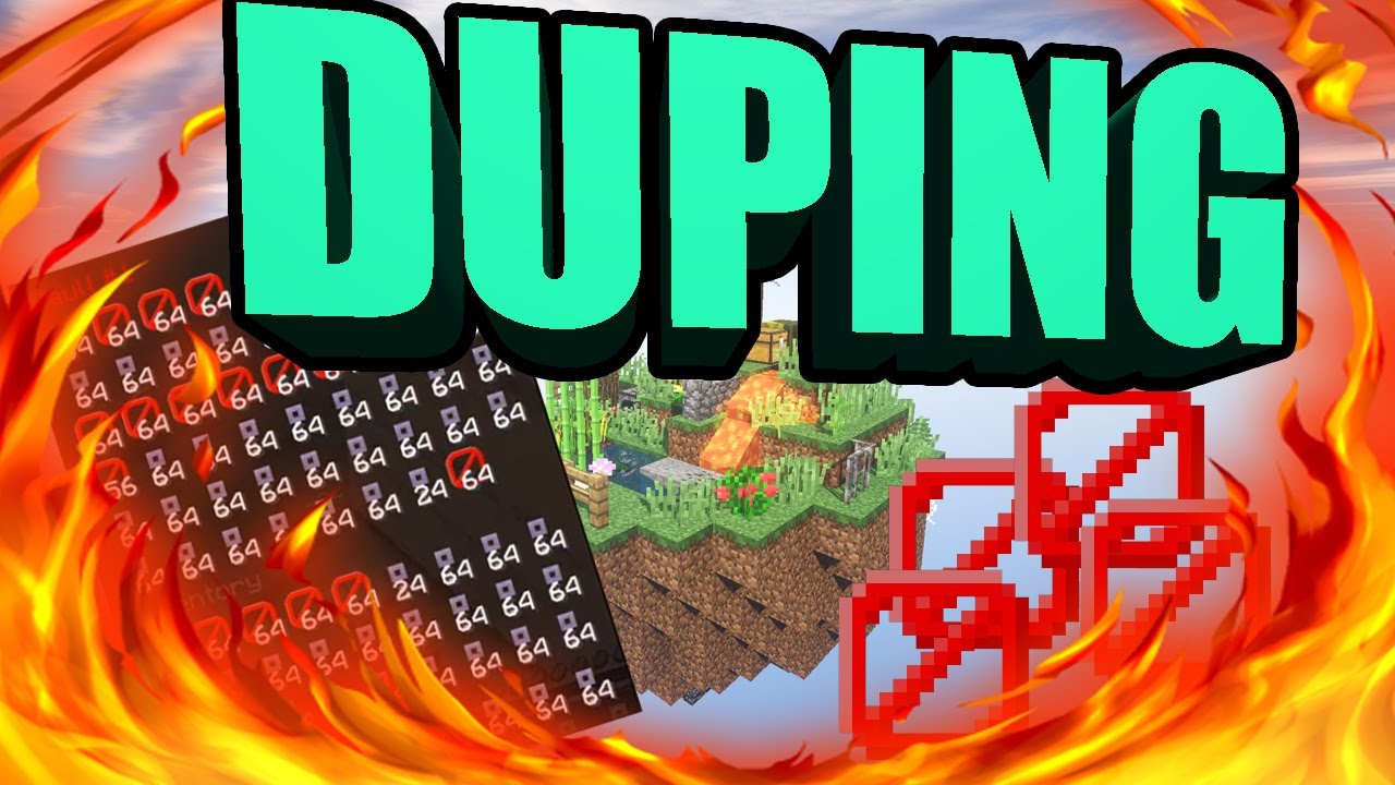 INSANE NEW DUPING METHOD HOW TO DUPE IN MINECRAFT NO HACKED