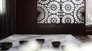 Tibetan Singing Bowls Therapy at Spa Royal Mansour