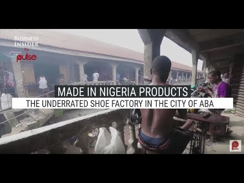 Made In Nigeria Products: The Underrated Shoe Factory In The City Of Aba | Pulse TV
