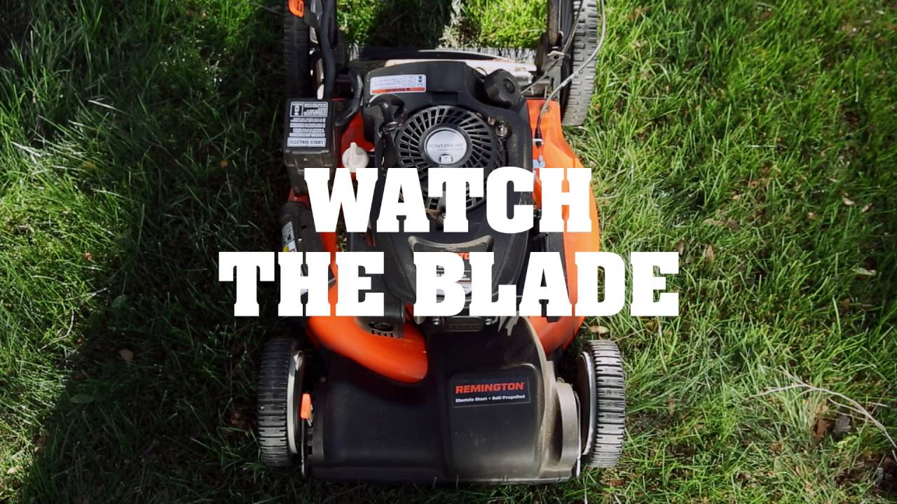 Lawn Mower Safety - How to Stay Safe When Using a Lawn Mower