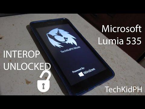 How to unlock lumia 535 password
