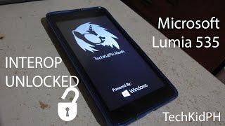 Microsoft Lumia 535 Interop Unlock in Action!