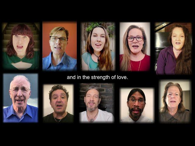 We Laugh, We Cry - a cappella / chorus