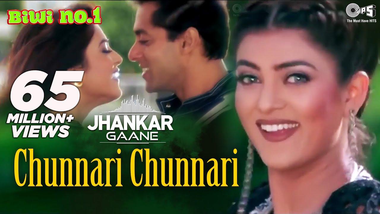 Download Chunnari Chunnari (Jhankar) - Biwi No.1 | Abhijeet & Anuradha Shriram | Salman & Sushmita