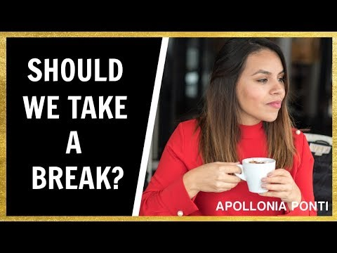 Why YOU Should TAKE A BREAK! from YouTube · Duration:  8 minutes 6 seconds