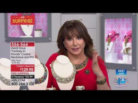 HSN | Heidi Daus Jewelry Designs Celebration 07.05.2017 - 12 PM