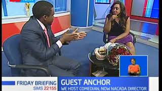 Guest Anchor: Comedian and NACADA Director Chipukeezy aka Vincent Muasya