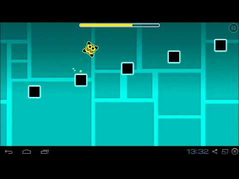Impossible Game Lvl1 (In Geometry Dash ) - By TheRealVector (me)