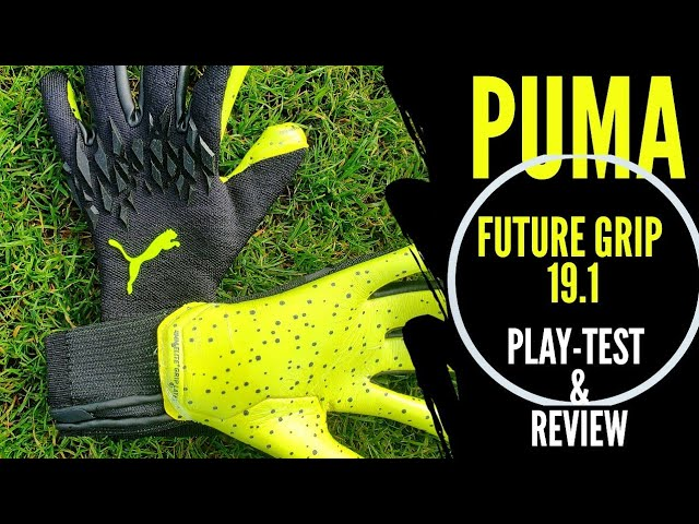 Puma Future Grip 19.1 Goalkeeper Glove Review & Play-Test ...