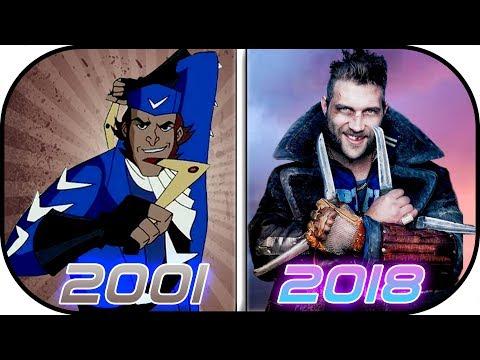 EVOLUTION of CAPTAIN BOOMERANG in Movies, Cartoons, TV (2001-2018) Catptain boomerang flash history