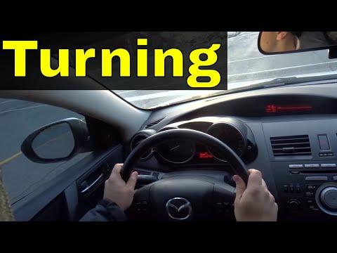 Turning Left And Right-Driving Lesson