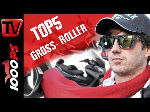 Top 5 - Großroller - Superschnelle Staubezwinger