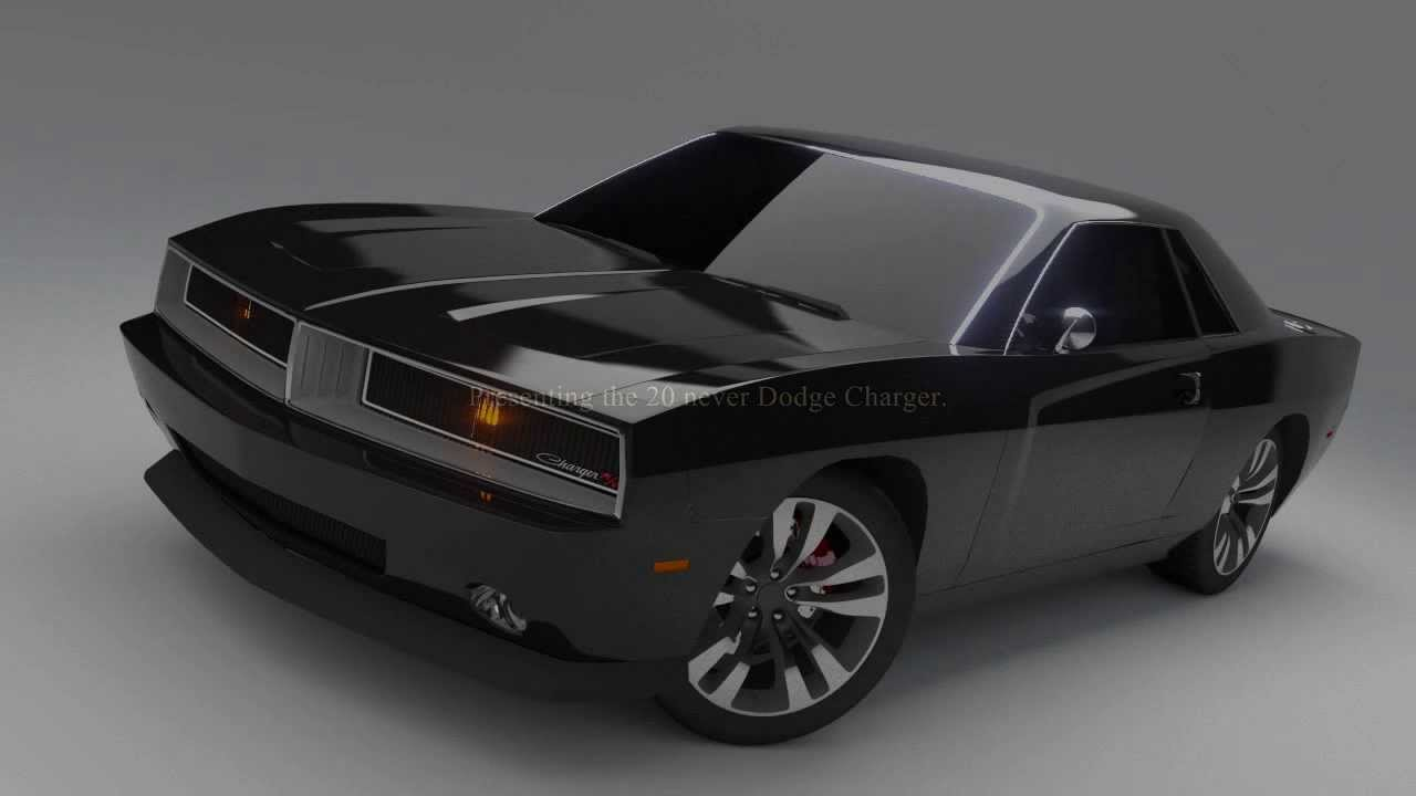 2016 Dodge Charger 2 Door >> Concept Dodge Charger And Daytona Youtube