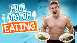 Full Day of Eating & Training! | THIS IS WHY I'M BUILDING MORE MUSCLE!