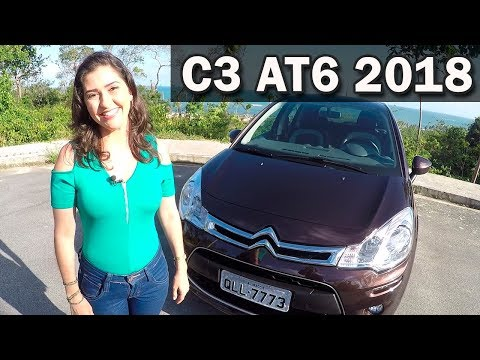 Test Drive Citroën C3 1.6 Automático Tendance 2018