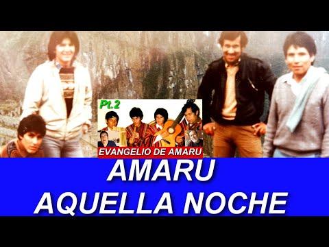 AQUELLA NOCHE AMARU (Inédito) 1ra. versión en Bolivia que después Miguel Mengoa llevó a Proyección.