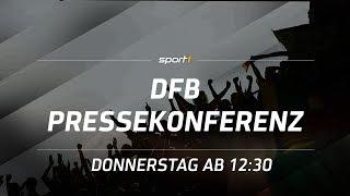 ReLIVE ⚽ | DFB Pressekonferenz | Länderspiel Deutschland - Spanien | SPORT1