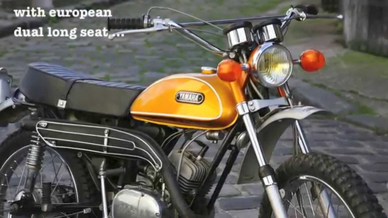 Yamaha 125 At1 1971 Unrestored And Running Well Youtube