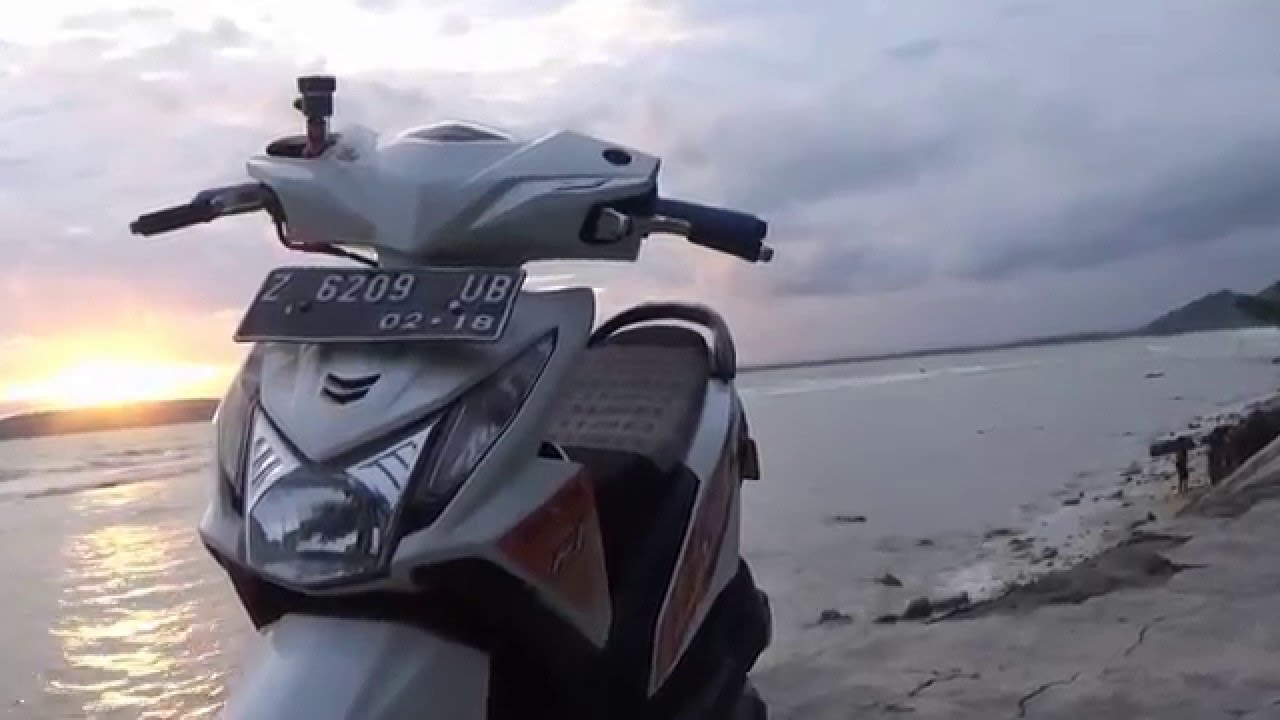 Modifikasi Honda Beat Injection Pantai Karapyak YouTube