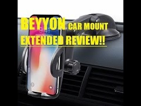 EXTENDED Review B07GKXPL6M Beyyon Windshield Dashboard Universal Car Mount, Cell Phone Holder
