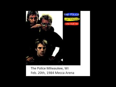 "The Police- Milwaukee 02-20-1984 ""Mecca Arena"" FULL SHOW"