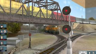 trainz 12 Emily bay layout operation