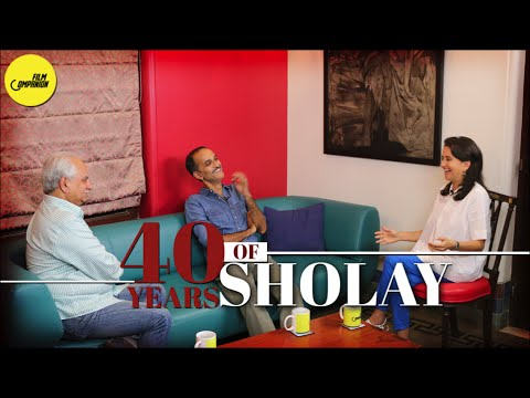 40 years of Sholay   Ramesh & Rohan Sippy with Anupama Chopra   Face Time