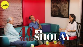 40 years of Sholay | Ramesh & Rohan Sippy with Anupama Chopra | Face Time