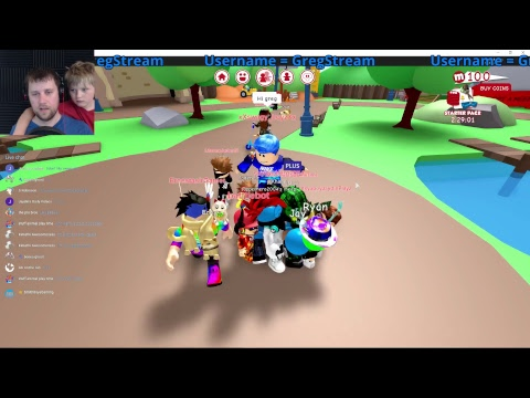 Roblox Livestream!  Join the VIP Server!