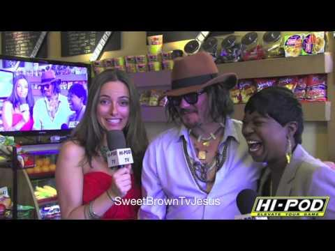 Sweet Brown meets Johnny Depp